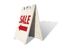Sale Tent Sign Royalty Free Stock Images