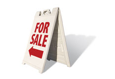 For Sale - Tent Sign Royalty Free Stock Photo