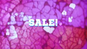 Sale! - text animation