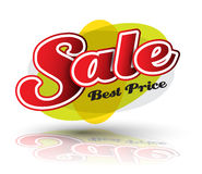 Sale text best price Stock Images