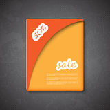 Sale text box sign Stock Image