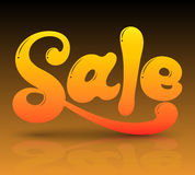 Sale text colours. Royalty Free Stock Images