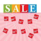 Sale Text Stock Image
