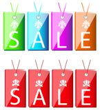 Sale Text Tag or Sign Stock Image