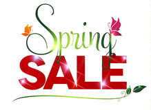 Sale text on a white background Stock Images