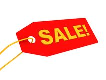 Sale ticket Royalty Free Stock Photo