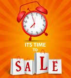 Sale time concept Royalty Free Stock Photography