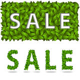 Sale title spring royalty free illustration