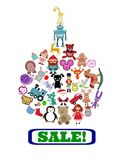 Sale! Toys! Stock Photography