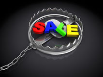 Sale trap Stock Photo