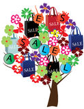 Sale tree Stock Photos