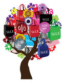 Sale tree Stock Photography