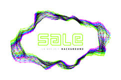Sale triangle background Royalty Free Stock Images