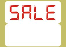 Sale(vector) Royalty Free Stock Photos