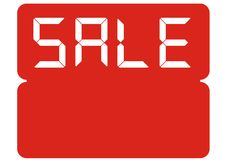 Sale(vector) Royalty Free Stock Photo