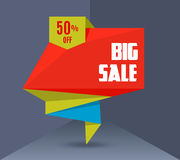 Sale Vector Banner 2 Royalty Free Stock Photo