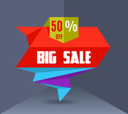 Sale Vector Banner 4 Stock Images