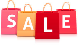Sale Bag Shopping Stock Vector - Image: 40767132