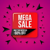 Sale vector, special offer Stock Photos