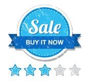 Sale vintage label Stock Image