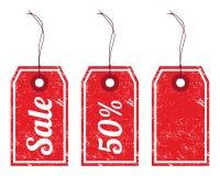 Sale vintage price tags Royalty Free Stock Photo