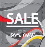 Sale voucher Royalty Free Stock Photos