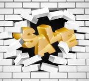 Sale Wall Design Stock Photos