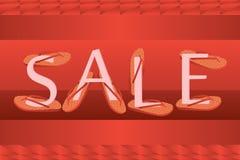 Sale wear slipper fix size idea Stock Photos