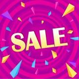Sale for web app banner vector illustration