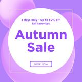 Sale web banners template. For special offers advertisement. Trendy colors in a modern material design style. New arrivals and final saleconcept for internet Royalty Free Stock Images