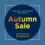 Sale web banners template. For special offers advertisement. Trendy colors in a modern material design style. New arrivals and final saleconcept for internet Royalty Free Stock Photography