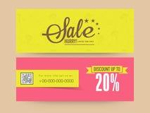 Sale web header or banner set. Stock Images