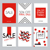 Sale website banners web template collection. Can be used for mo. Bile website banners, web design, posters, email and newsletter designs Stock Photography