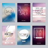Sale website banners web template collection. Can be used for mo. Bile website banners, web design, posters, email and newsletter designs Stock Images