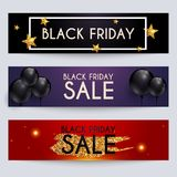 Sale website banners web template collection. Can be used for mo. Bile website banners, web design, posters, email and newsletter designs Stock Photos