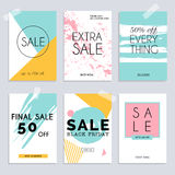 Sale website banners web template collection.. Can be used for mobile website banners, web design, posters, email and newsletter designs Stock Photos