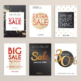 Sale website banners web template collection. Can be used for mobile. Website banners, web design, posters, email and newsletter designs Royalty Free Stock Photo