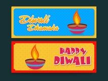 Sale website header or banner for Diwali celebration. Stock Photography