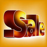 SALE on the white-blue background. EPS 8 Royalty Free Stock Photos