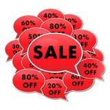 Sale Window add Stock Photo