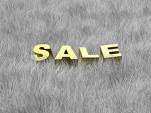 Sale of a Winter collection. (image can be used for printing or web Stock Photography