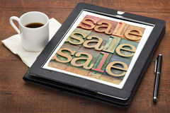 Sale word abstract Stock Photography