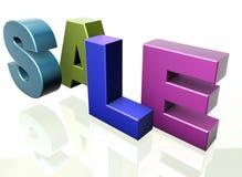 Sale word announcement concept Stock Images