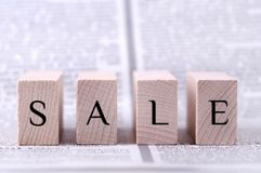 Sale word Stock Image
