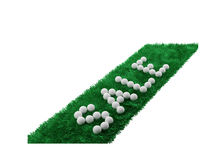 Sale word on the grass Royalty Free Stock Photos