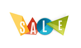 Sale word label banner Stock Photo