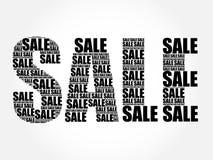 SALE Word,  words cloud Stock Photo