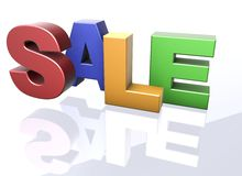 Sale words Royalty Free Stock Images