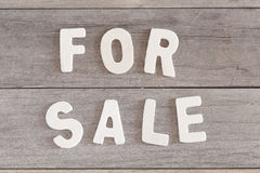 For sale Royalty Free Stock Images