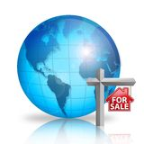 For Sale - World Royalty Free Stock Image